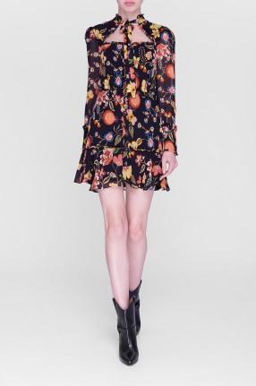ALEXIS Платье с принтом