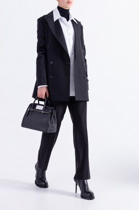 ANN DEMEULEMEESTER Двубортный пиджак