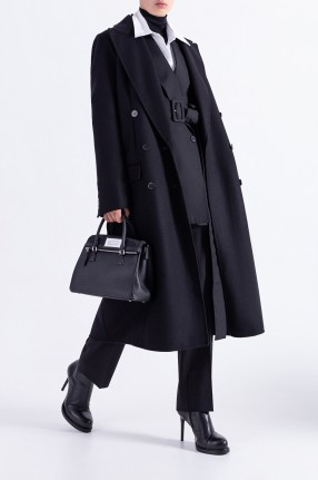 ANN DEMEULEMEESTER Двубортное пальто