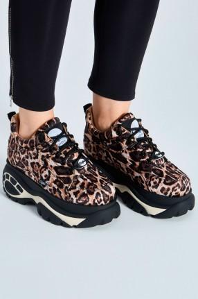 BUFFALO LONDON Леопардовые кроссовки