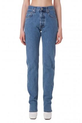 HELMUT LANG Удлиненные джинсы