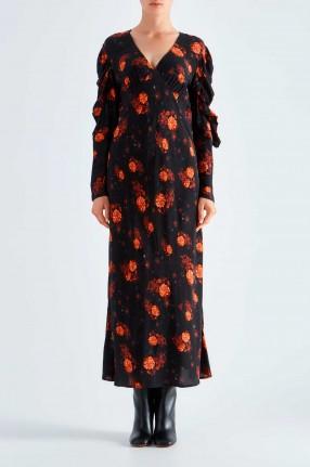 IRO Платье с цветочным принтом