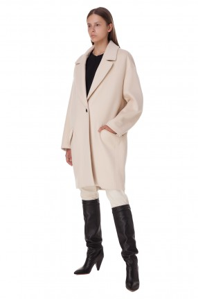 ISABEL MARANT Пальто oversize