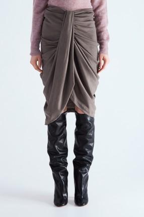 ISABEL MARANT Драпированная юбка