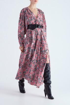 ISABEL MARANT Платье с принтом