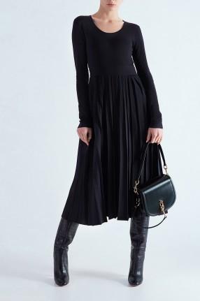 MO&CO EDITION Платье c плиссированной юбкой