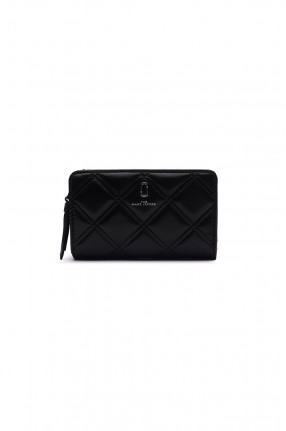 MARC JACOBS Кошелек THE QUILTED SOFTSHOT COMPACT