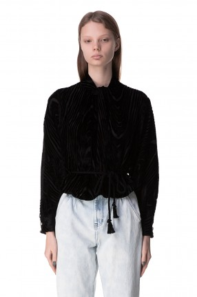 NANUSHKA Блуза со съемным поясом