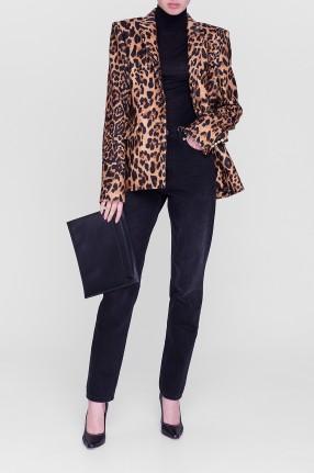 PACO RABANNE Леопардовый пиджак