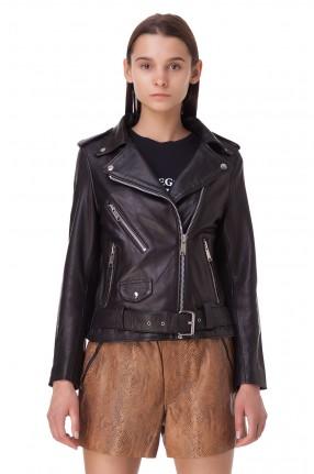 RAIINE Кожаная куртка-косуха