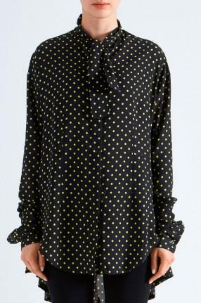 UNRAVEL PROJECT Блуза в горох